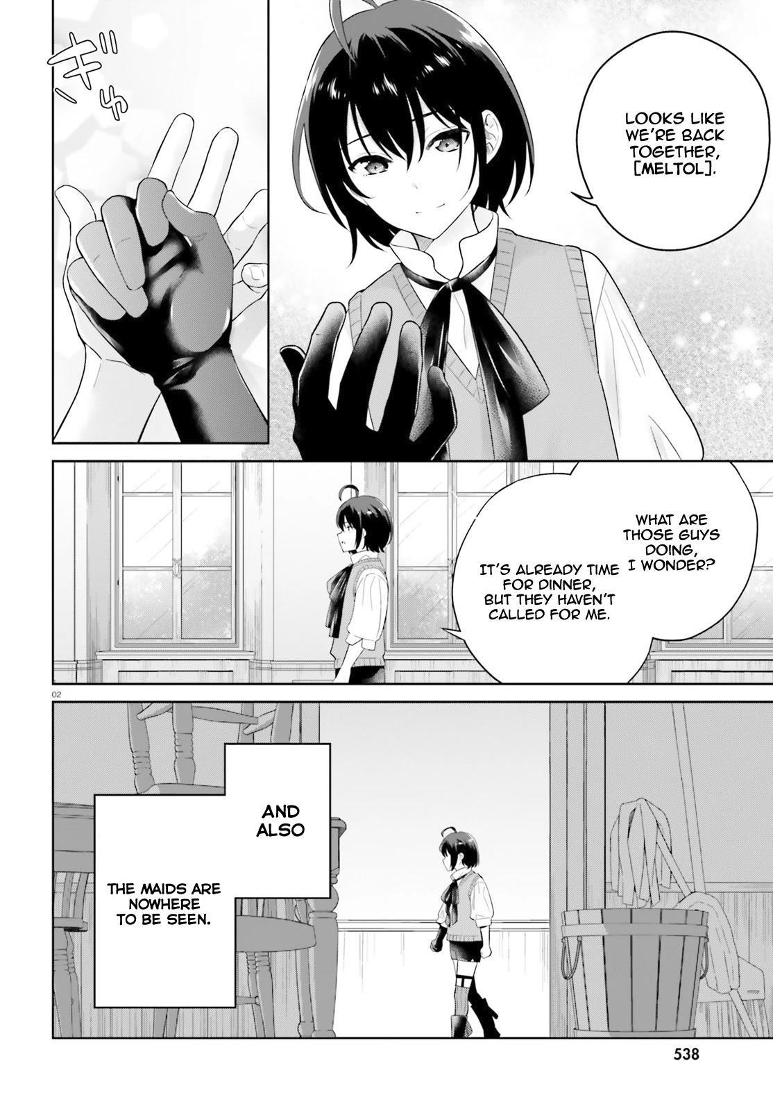 Shindou Yuusha To Maid Onee-San Chapter 13 page 3 - Mangakakalots.com