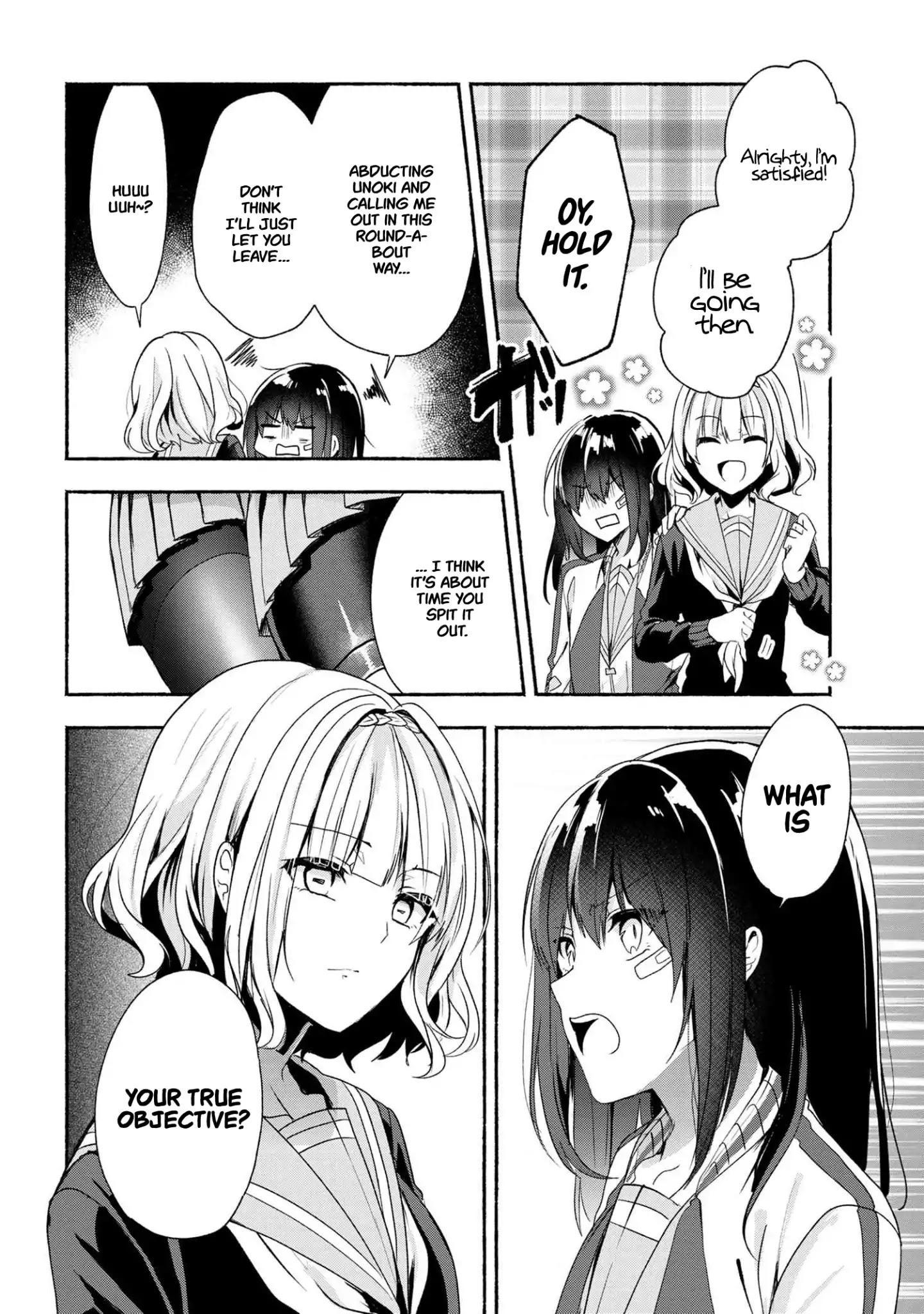 Pashiri Na Boku To Koi Suru Banchou-San Chapter 43 page 15 - Mangakakalots.com