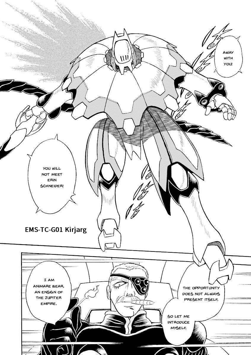 Kidou Senshi Crossbone Gundam Ghost Vol.5 Chapter 20: Beast In The Jungle page 3 - Mangakakalots.com