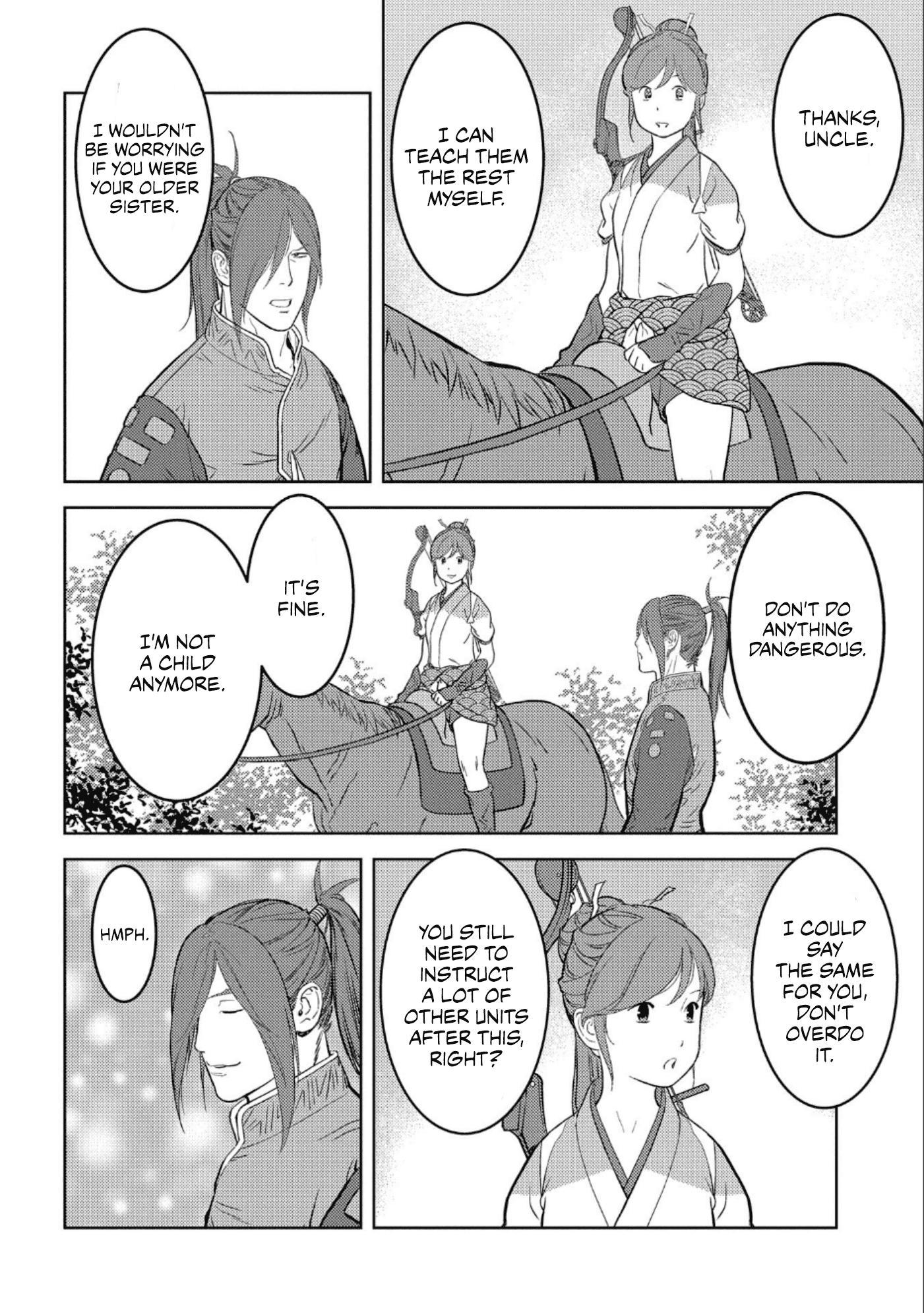 Sengoku Komachi Kurou Tan! Chapter 41 page 25 - Mangakakalots.com