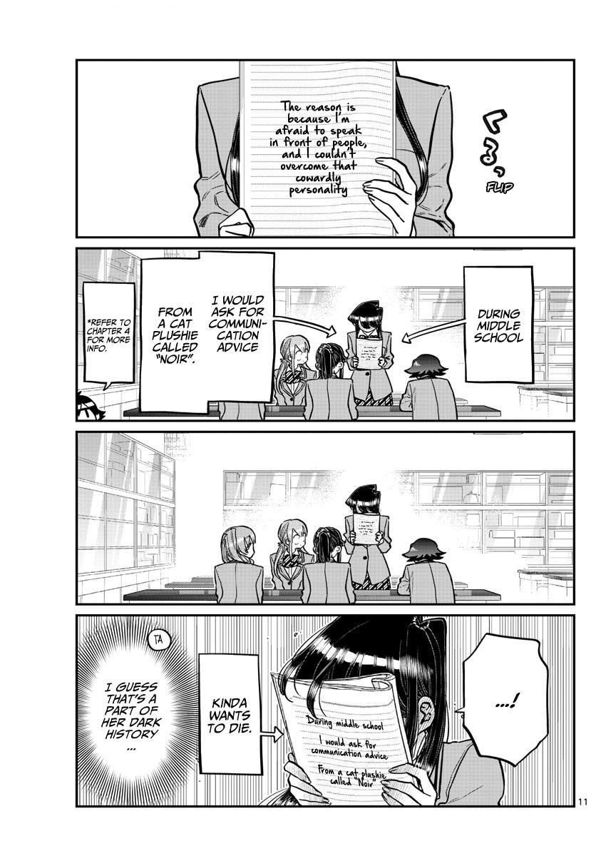 Komi-San Wa Komyushou Desu Chapter 252: Mixer? 2 page 11 - Mangakakalot