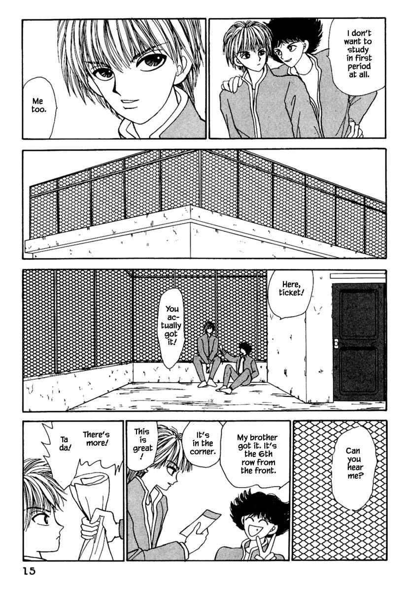 Shi To Kanojo To Boku Chapter 10.1 page 17 - Mangakakalots.com