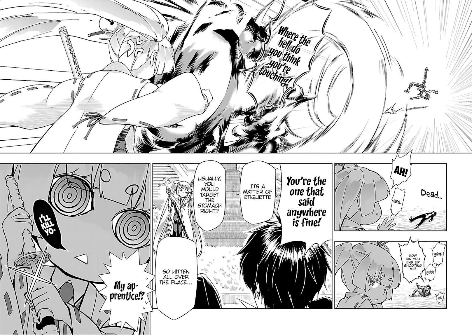 Busou Shoujo Machiavellianism Chapter 35: Sudden page 9 - Mangakakalots.com