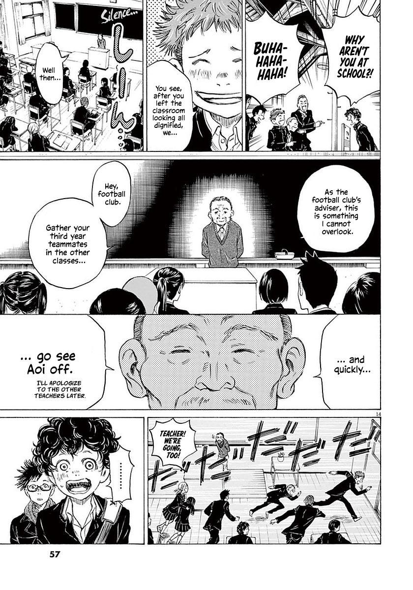Ao Ashi Vol.3 Chapter 21: Orange-Coloured Scenery (Part 2) page 14 - Mangakakalots.com