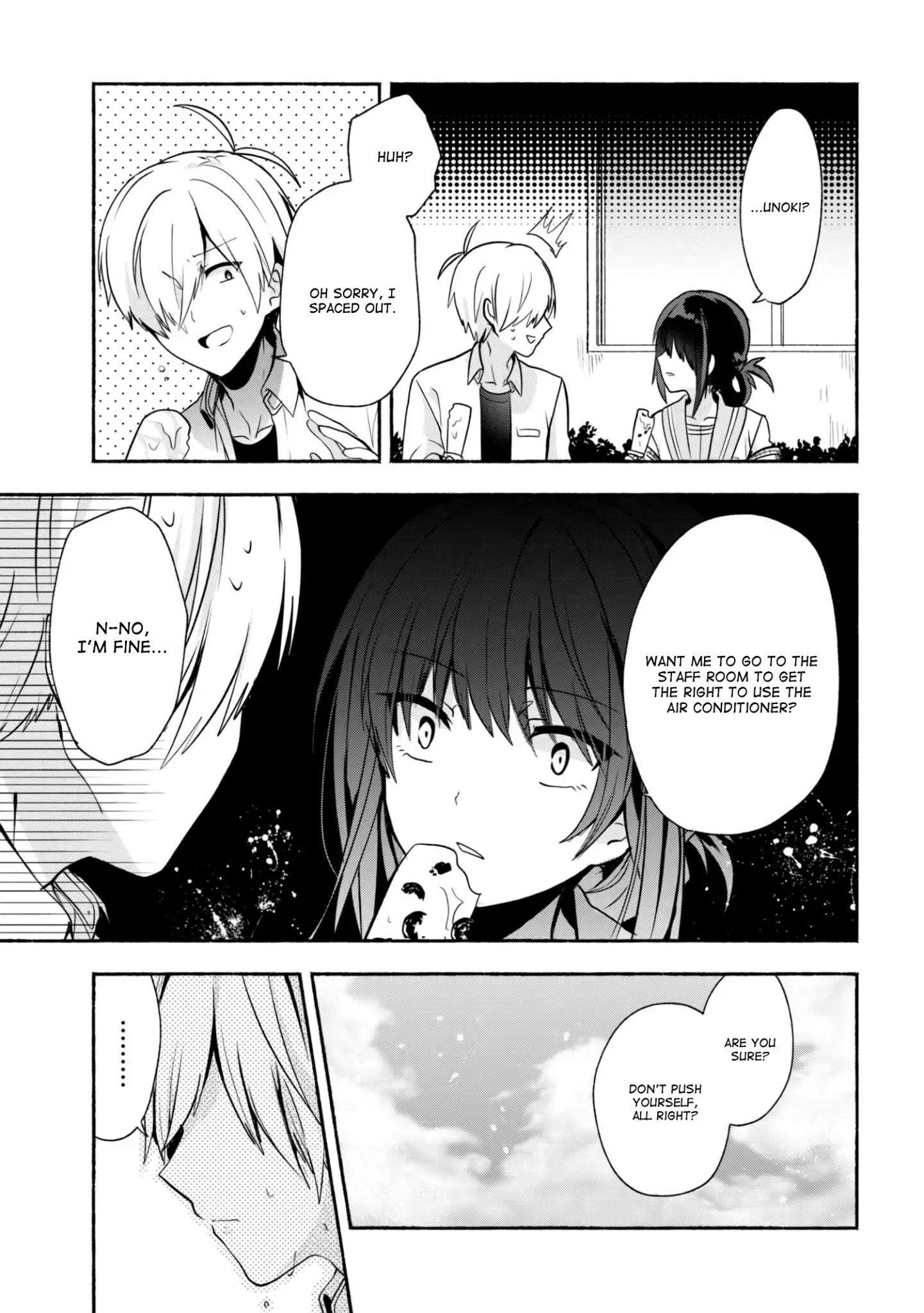 Pashiri Na Boku To Koi Suru Banchou-San Chapter 27 page 4 - Mangakakalots.com