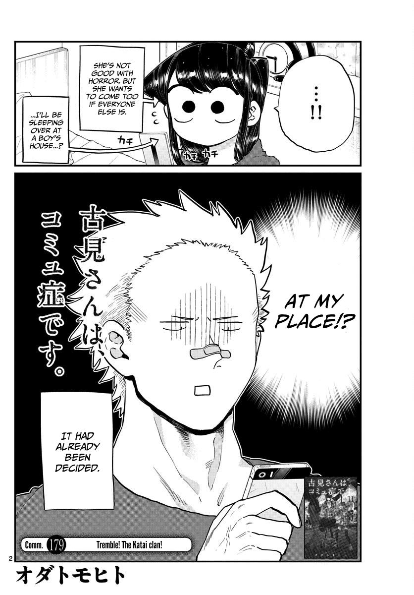 Komi-San Wa Komyushou Desu Vol.13 Chapter 179: Tremble! The Katai Clan! page 2 - Mangakakalot