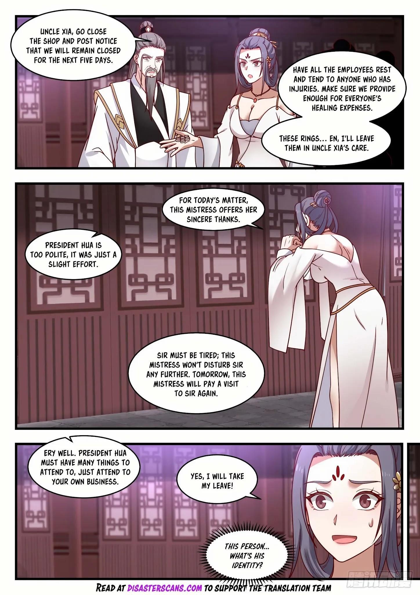 Martial Peak Chapter 1505: Purple Star Order page 7 - Mangakakalots.com