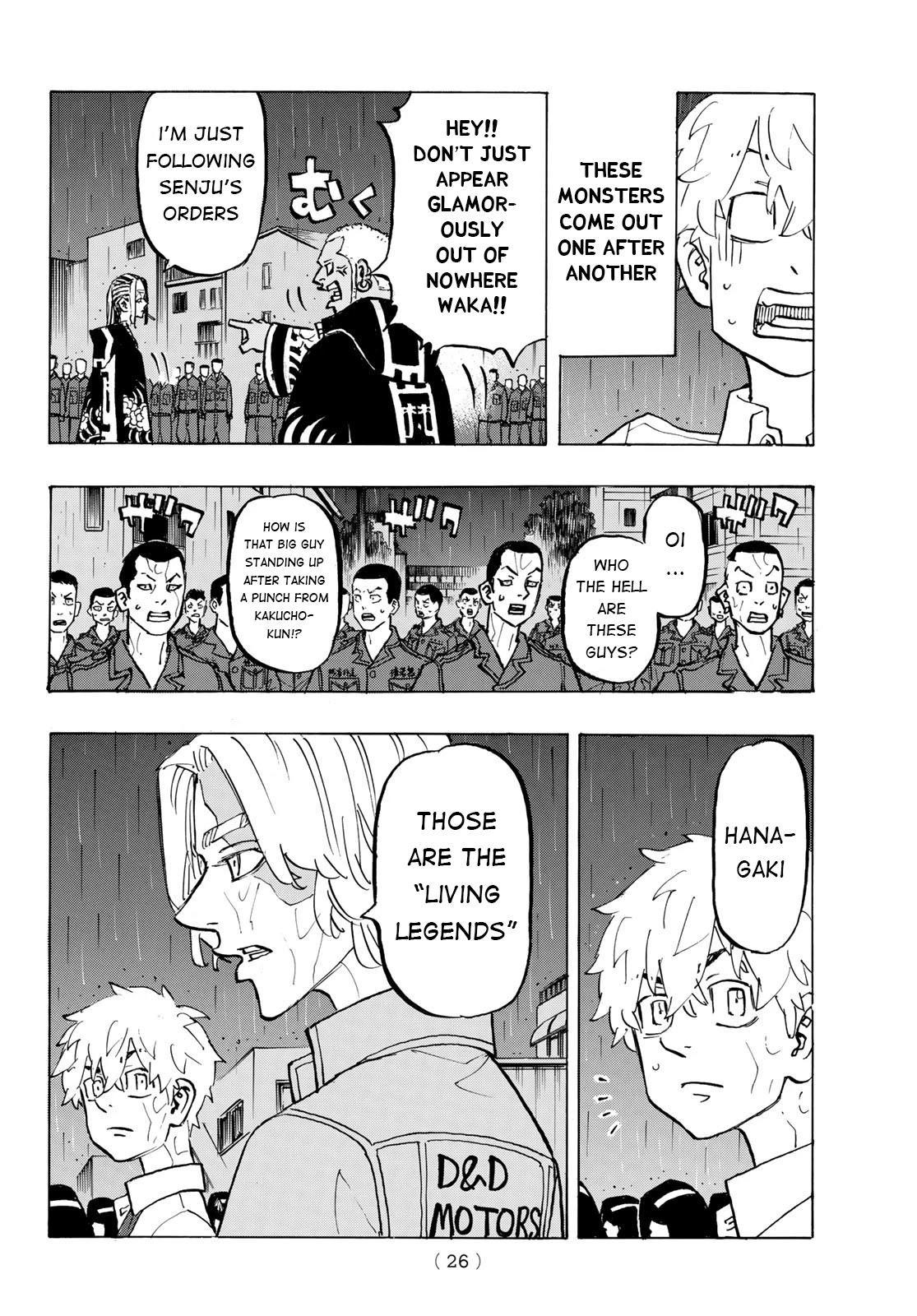 Tokyo Manji Revengers Chapter 213: Living Legends page 18 - Mangakakalots.com