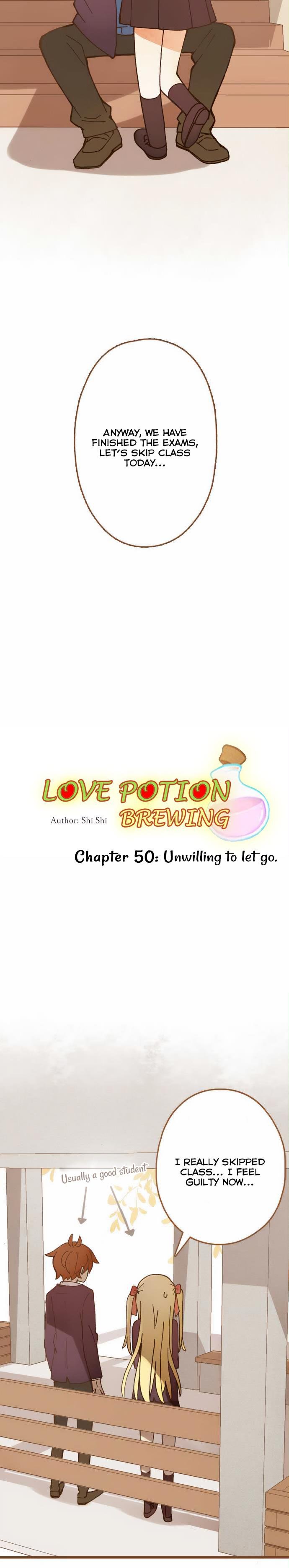 Love Potion Brewing Chapter 50: Unwilling To Let Go page 5 - Mangakakalots.com