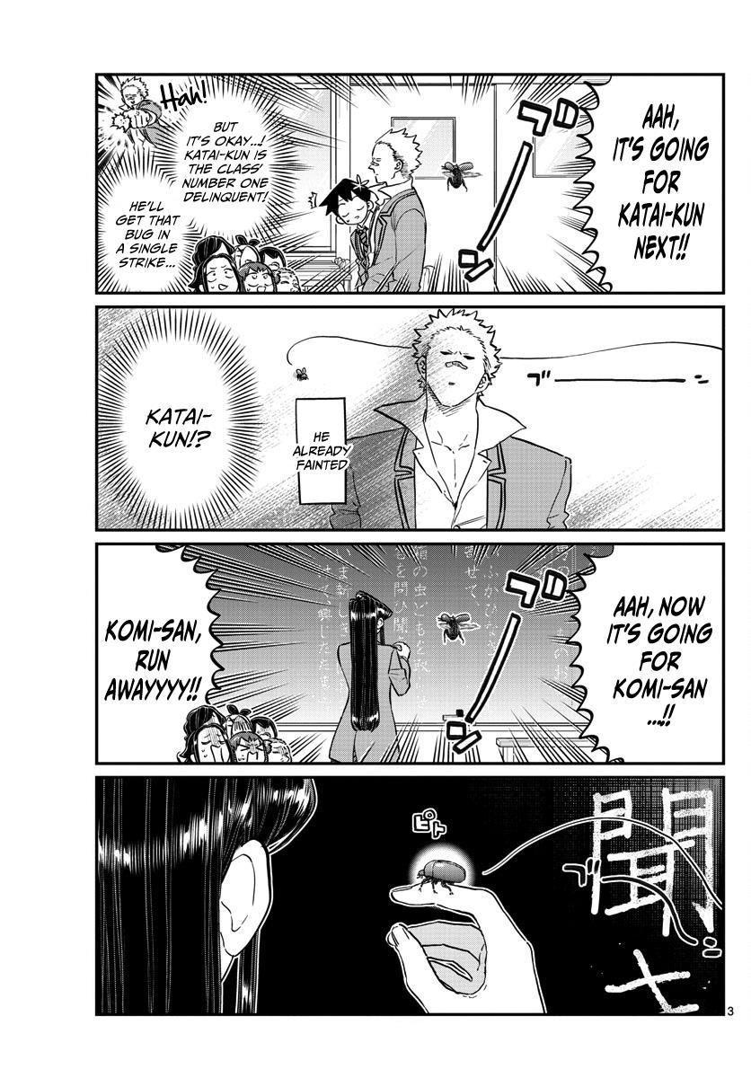 Komi-San Wa Komyushou Desu Vol.10 Chapter 141: A Bug page 3 - Mangakakalot