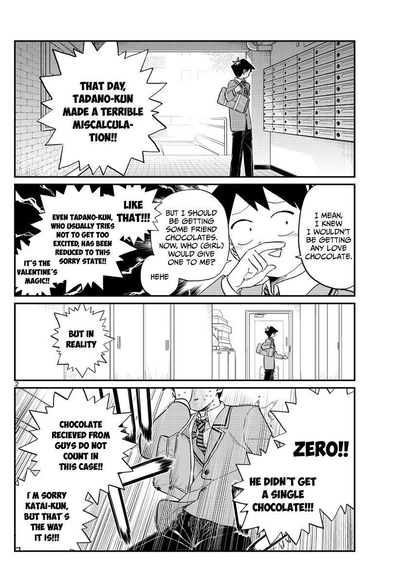 Komi-San Wa Komyushou Desu Vol.9 Chapter 118: Valentine's Day (2) page 2 - Mangakakalot