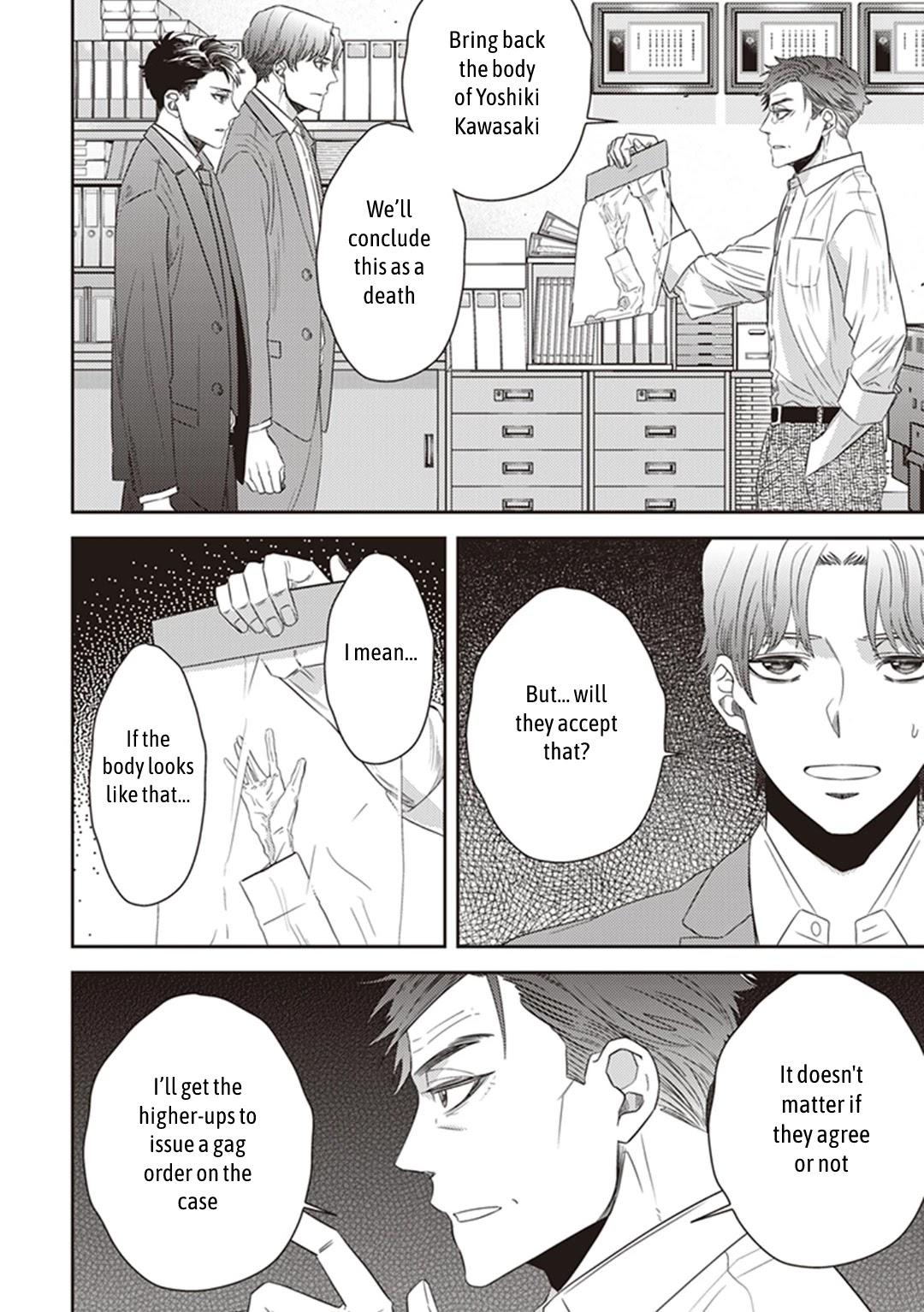 Midnight Occult Civil Servants Chapter 38: Becoming A Demon (Part 4) page 38 - Mangakakalots.com