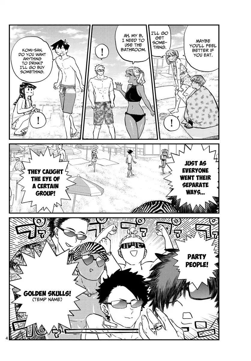 Komi-San Wa Komyushou Desu Vol.12 Chapter 165: Boyfriend page 4 - Mangakakalot