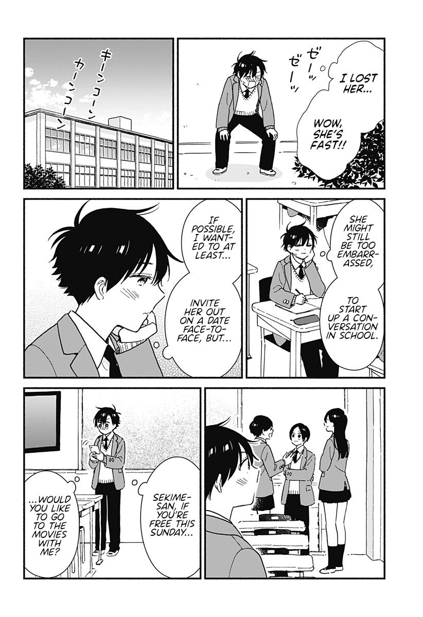 Sekimen Shinaide Sekime-San Chapter 5 page 6 - Mangakakalots.com