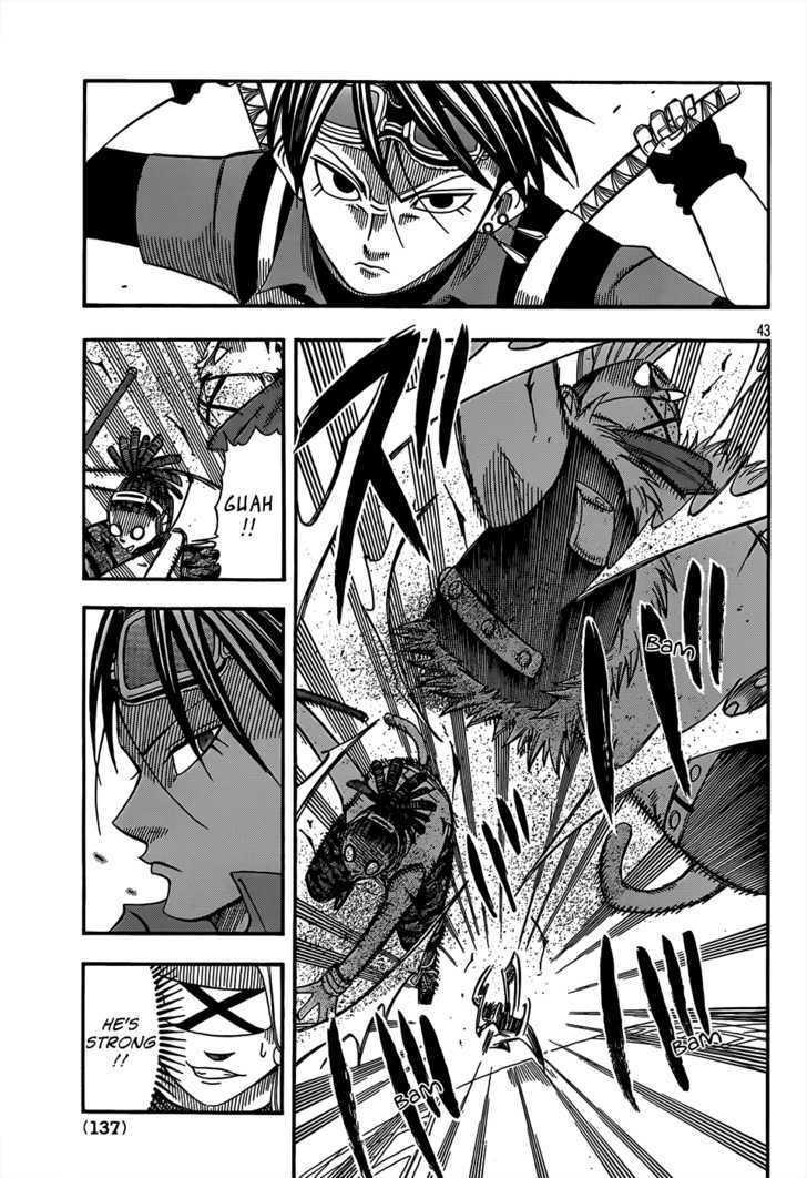 Buster Keel! Vol.2 Chapter 17 : Songbird Dream page 43 - Mangakakalots.com