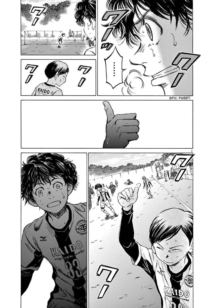 Ao Ashi Chapter 50: Eye To Eye page 3 - Mangakakalots.com