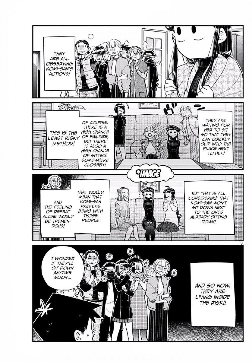 Komi-San Wa Komyushou Desu Vol.7 Chapter 97: Place To Sit page 3 - Mangakakalot