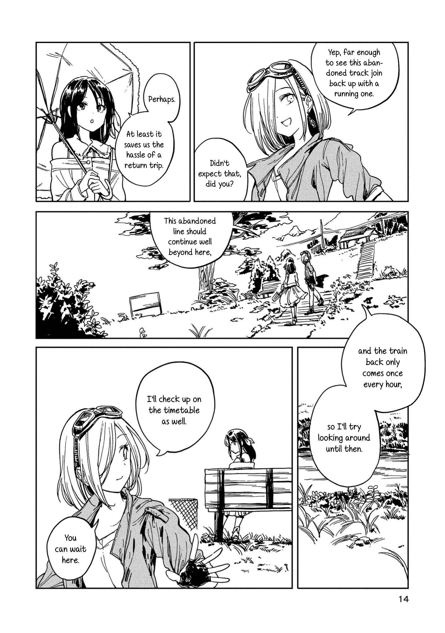 Good-Bye Dystopia Chapter 5: Look Both Ways, Always page 10 - Mangakakalots.com