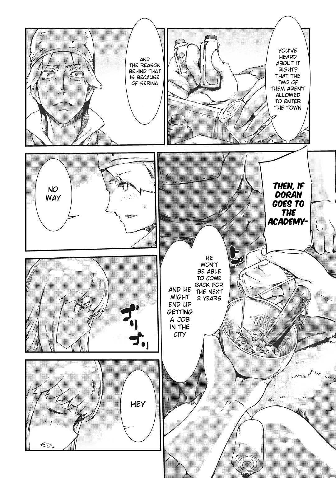 Sayounara Ryuusei, Konnichiwa Jinsei Chapter 35: Premonition Of Separation page 8 - Mangakakalots.com