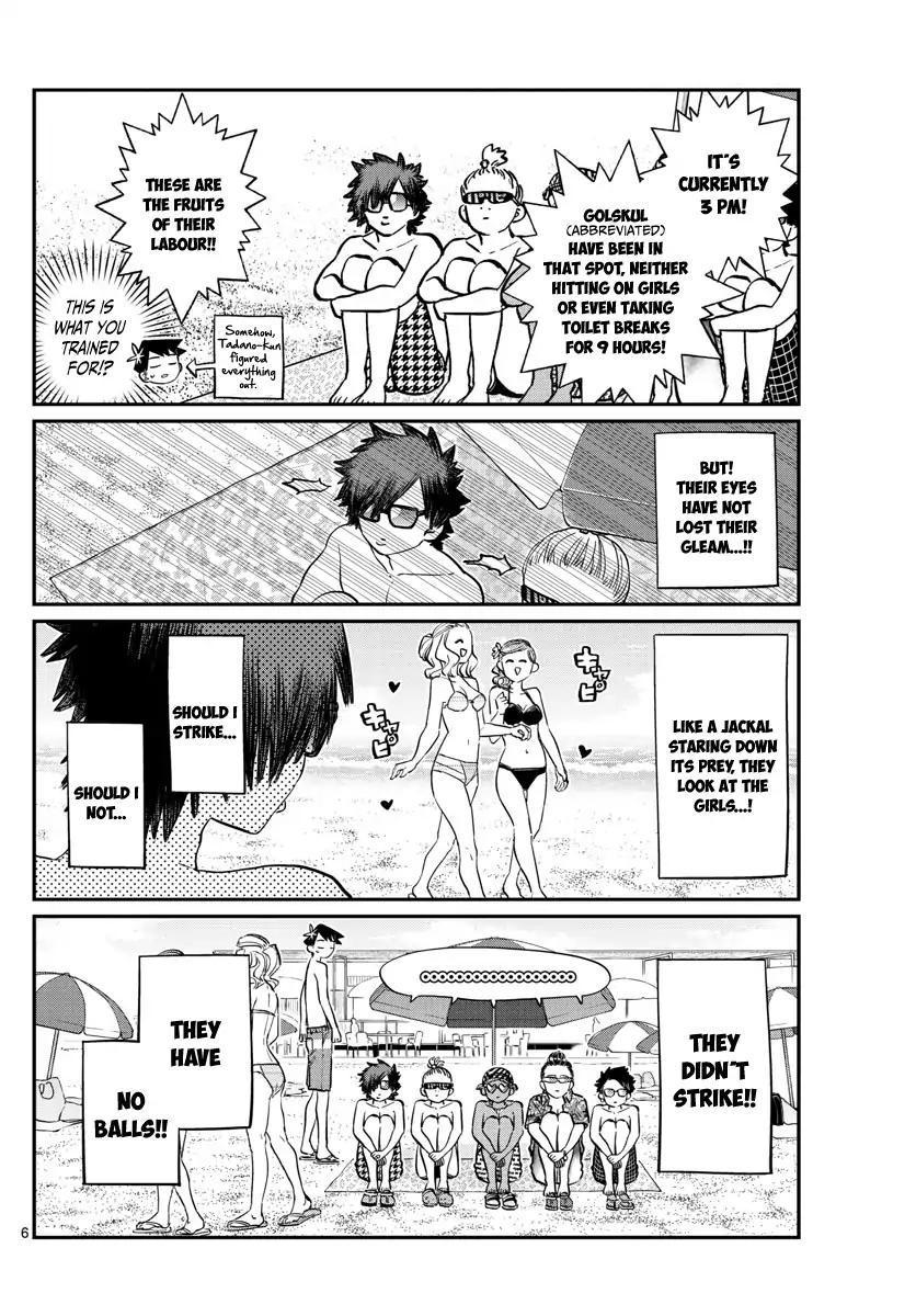 Komi-San Wa Komyushou Desu Vol.12 Chapter 165: Boyfriend page 6 - Mangakakalot