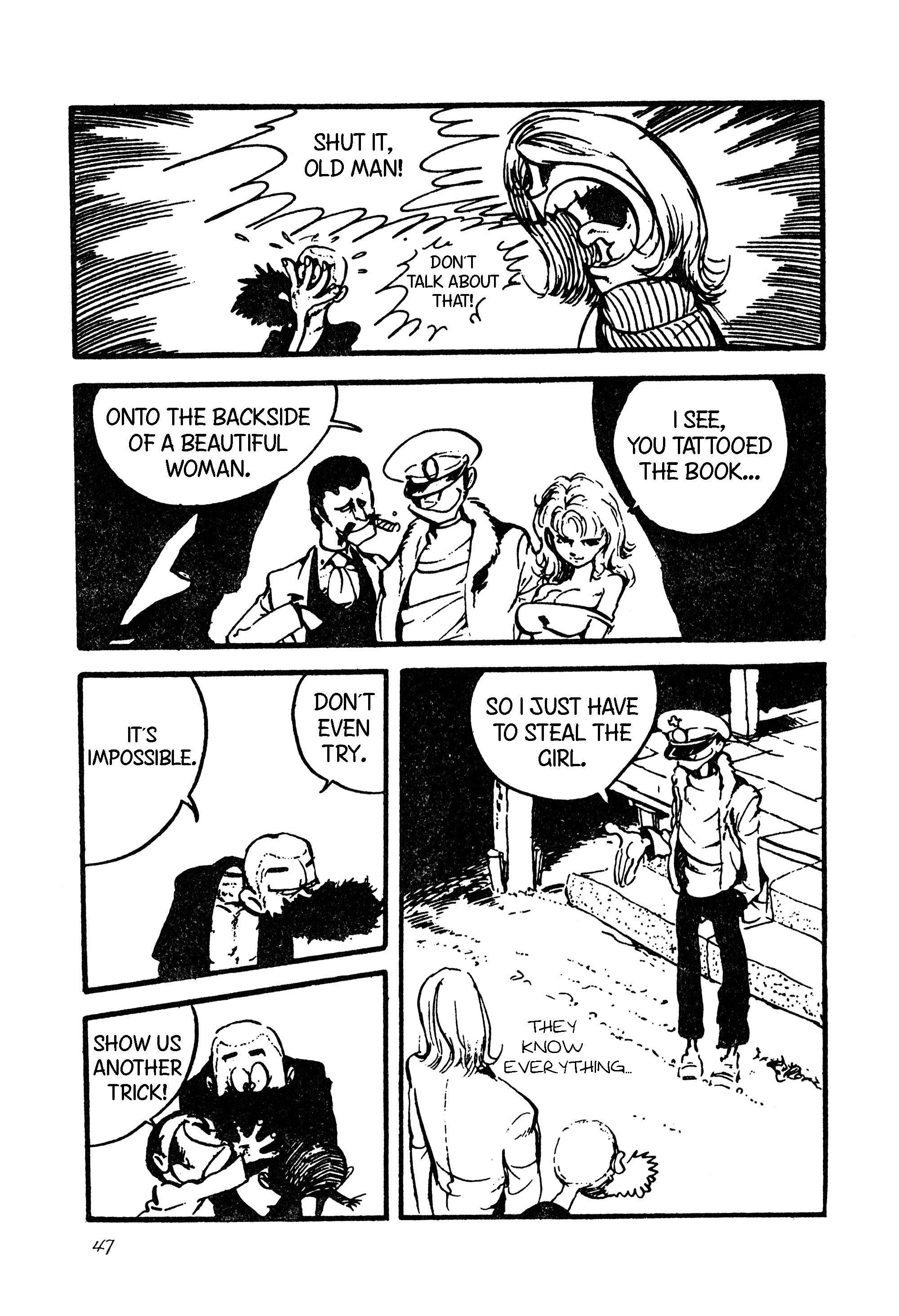 Lupin Iii Vol.9 Chapter 101: International Thievery Competition (Part 2) page 17 - Mangakakalots.com