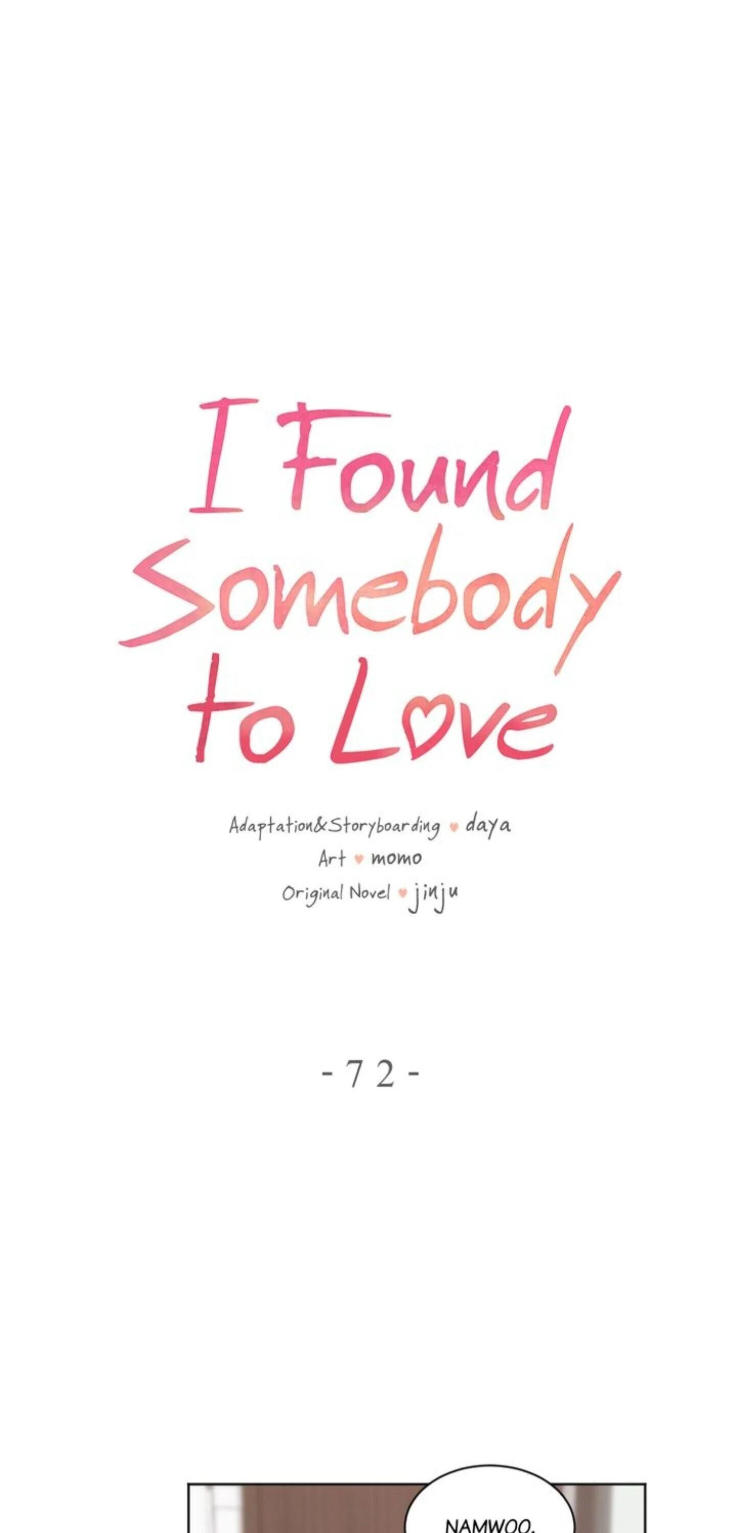 I Found Somebody To Love Chapter 72 page 1 - Mangakakalots.com