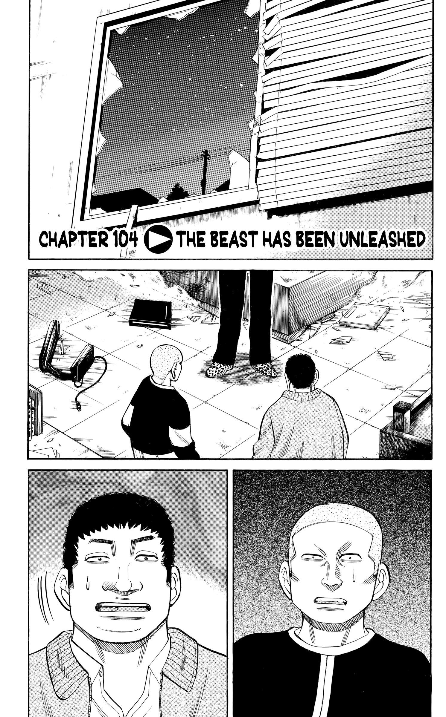 Nanba Mg5 Vol.12 Chapter 104: The Beast Has Been Unleashed page 1 - Mangakakalots.com