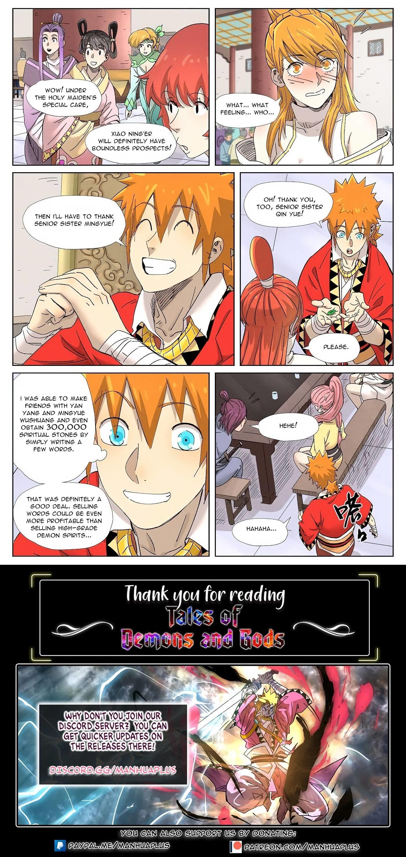 Tales Of Demons And Gods Chapter 342 page 10 - Mangakakalot
