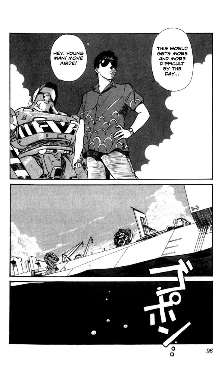 Kidou Keisatsu Patlabor Vol.7 Chapter 9.06: Waste Container Number 13 < Part 6> page 16 - Mangakakalots.com