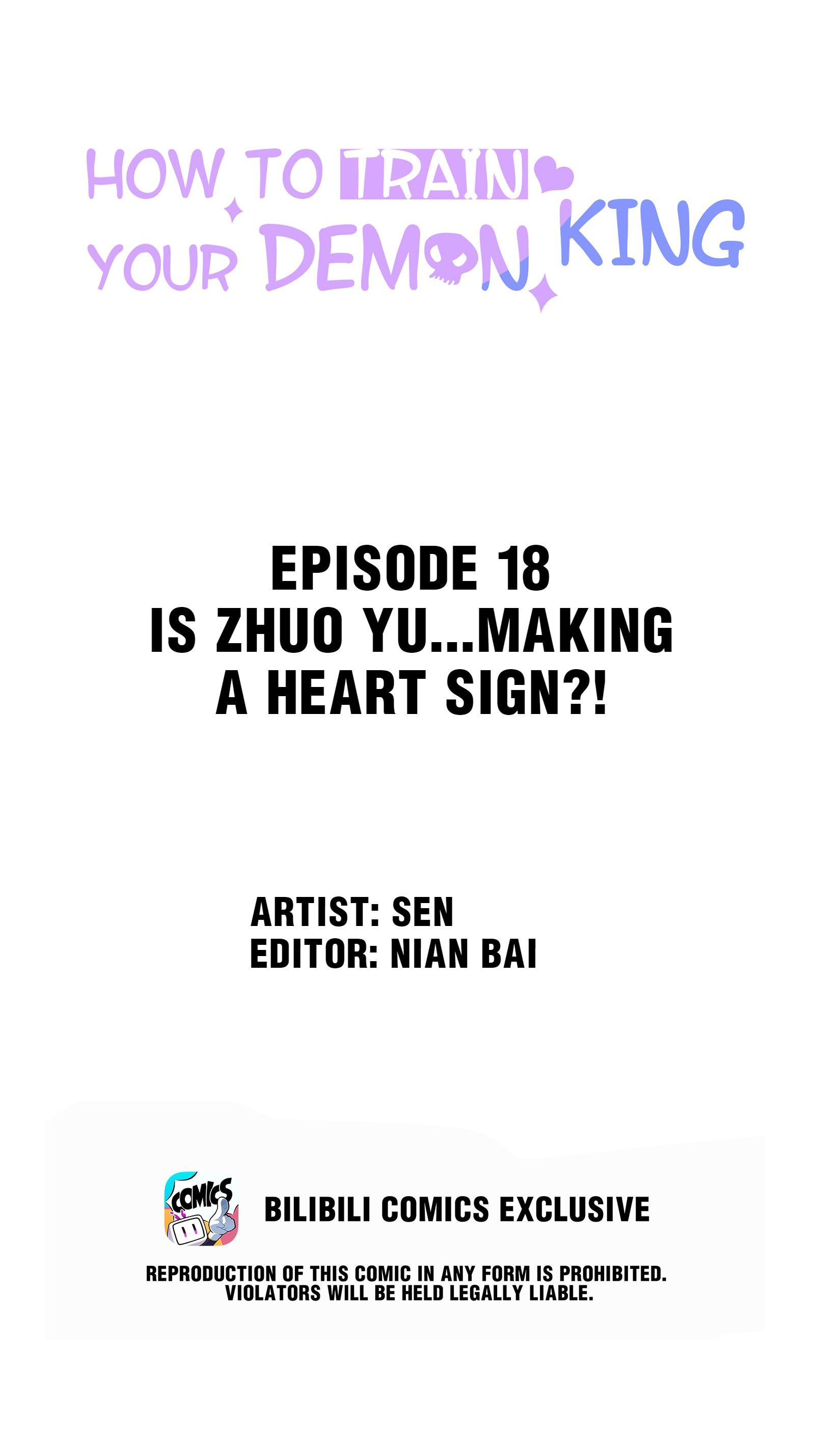 How To Train Your Demon King Vol.1 Chapter 18: Is Zhuo Yu...making A Heart Sign?! page 2 - Mangakakalots.com