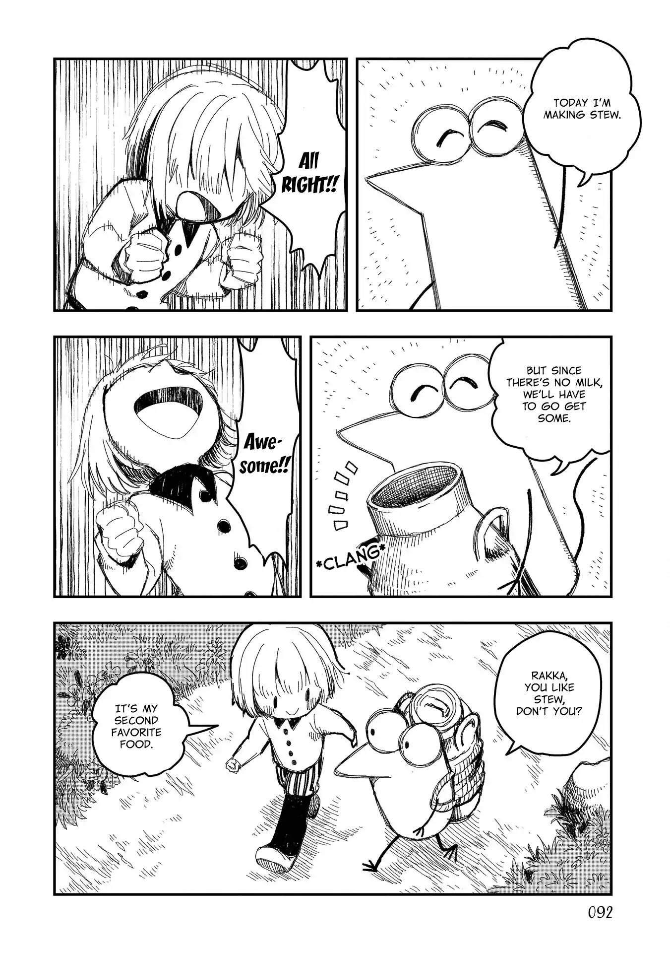 Rojica To Rakkasei Chapter 5: Cow page 2 - Mangakakalots.com