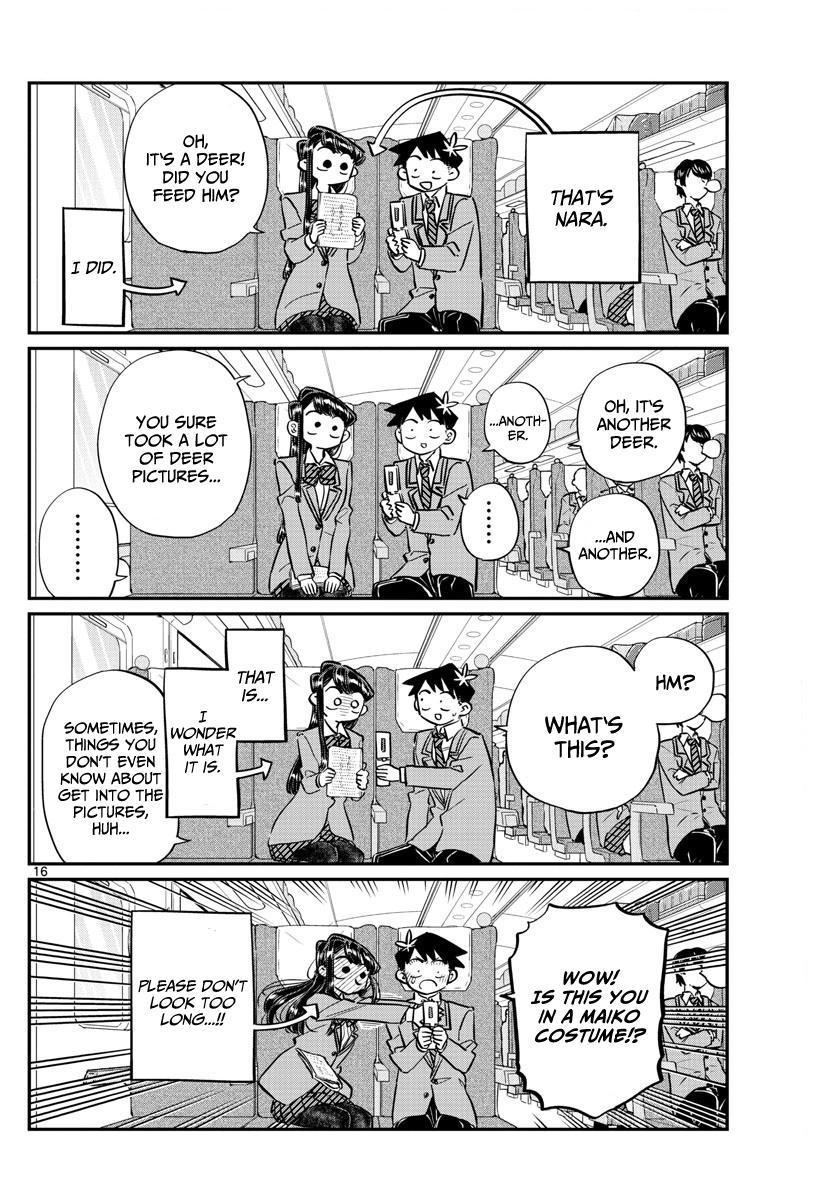 Komi-San Wa Komyushou Desu Vol.8 Chapter 113: The Train Ride Home page 16 - Mangakakalot
