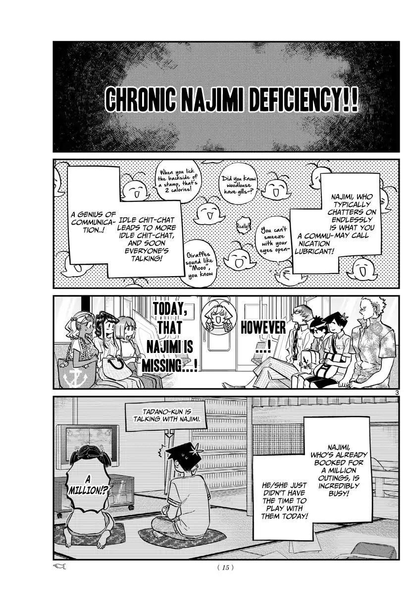 Komi-San Wa Komyushou Desu Vol.12 Chapter 164: The Sea! page 5 - Mangakakalot
