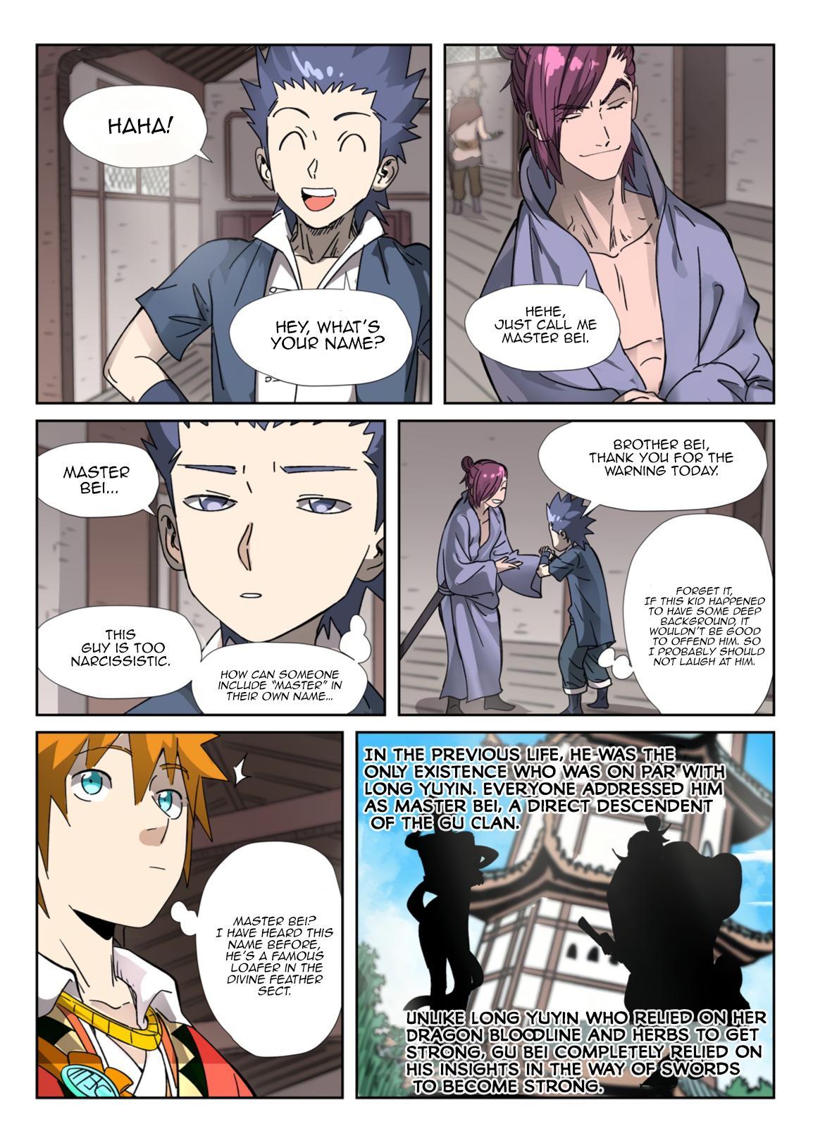 Tales Of Demons And Gods Chapter 306.1 page 9 - Mangakakalots.com