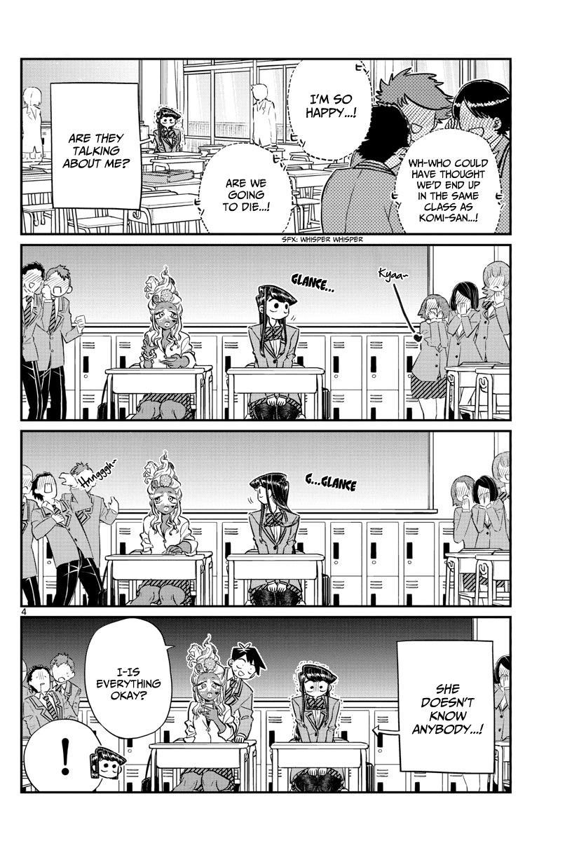 Komi-San Wa Komyushou Desu Vol.10 Chapter 130: New Class page 4 - Mangakakalot