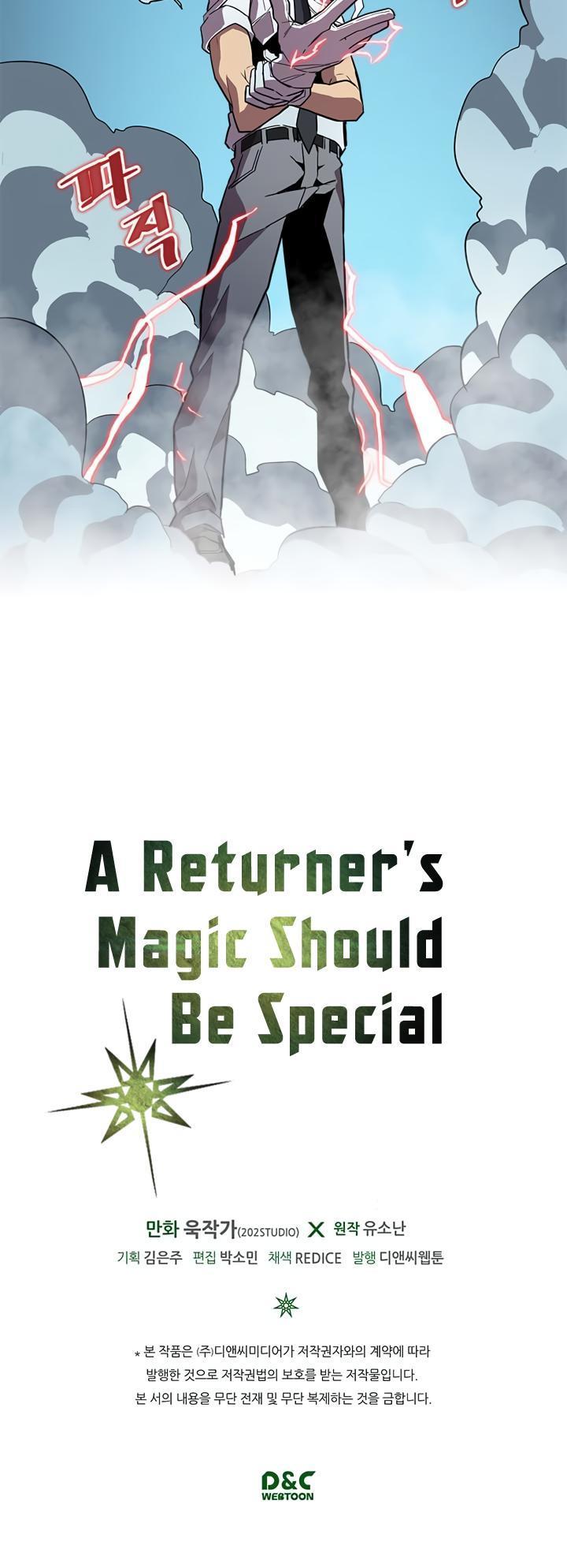 A Returner's Magic Should Be Special Chapter 34 page 33 - Mangakakalots.com