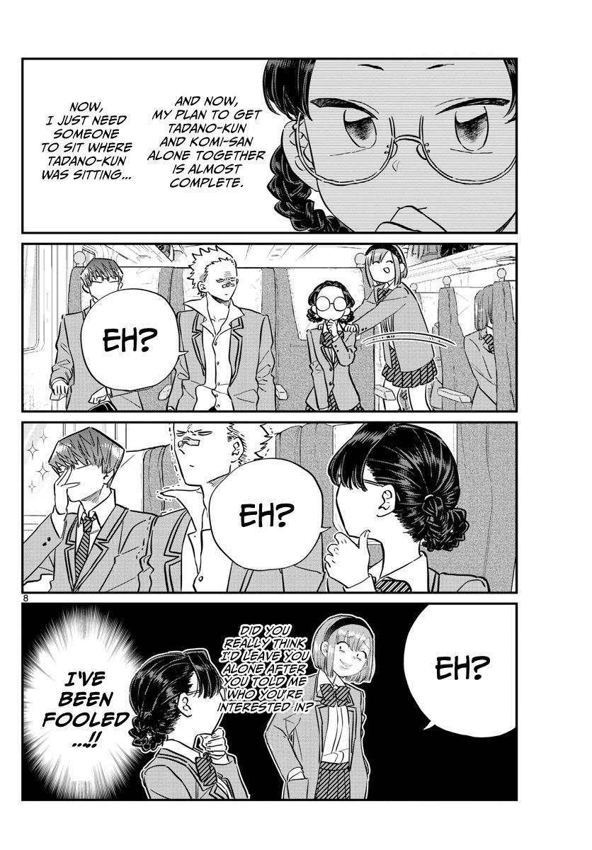 Komi-San Wa Komyushou Desu Vol.8 Chapter 113: The Train Ride Home page 8 - Mangakakalot