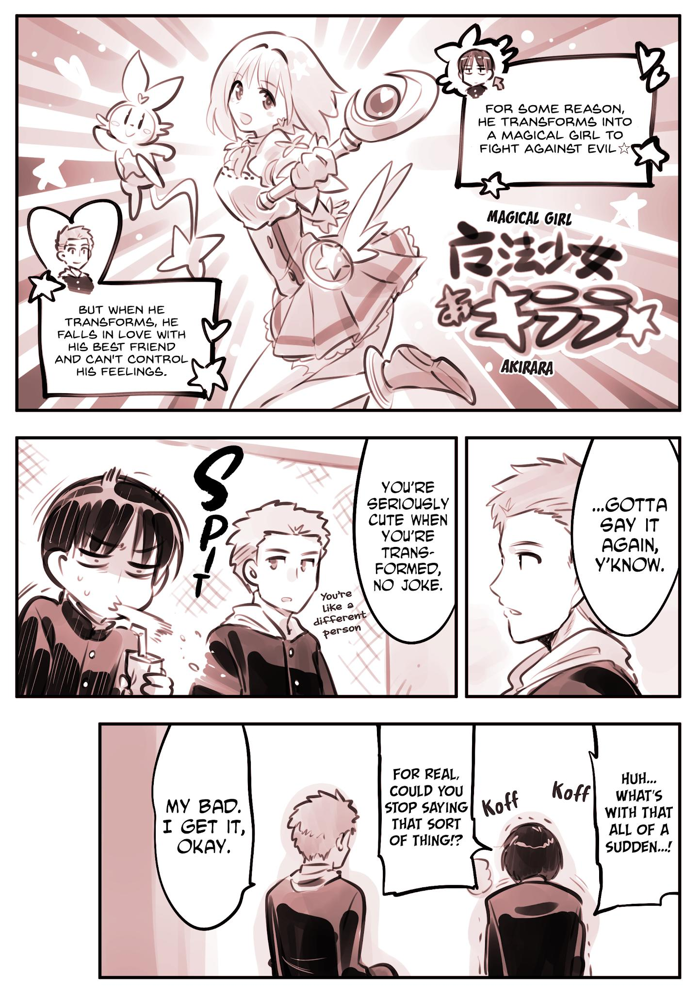He Is A Magical Girl Chapter 8 page 1 - Mangakakalots.com