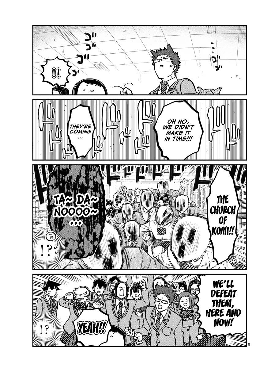 Komi-San Wa Komyushou Desu Chapter 306: Reaction page 9 - Mangakakalot