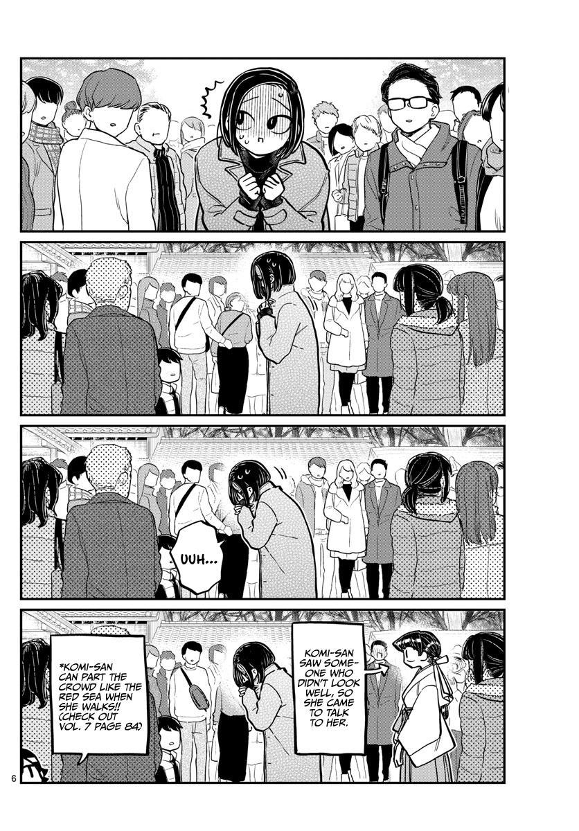 Komi-San Wa Komyushou Desu Chapter 275: Shut In page 6 - Mangakakalot
