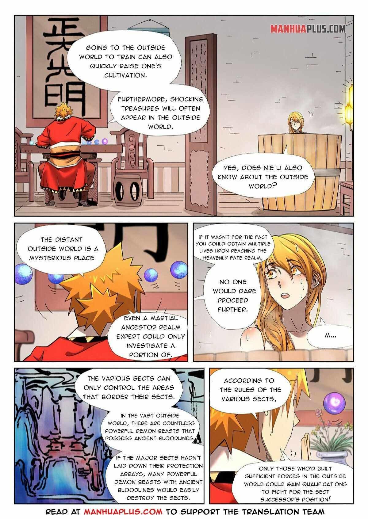 Tales Of Demons And Gods Chapter 343.5 page 5 - Mangakakalot