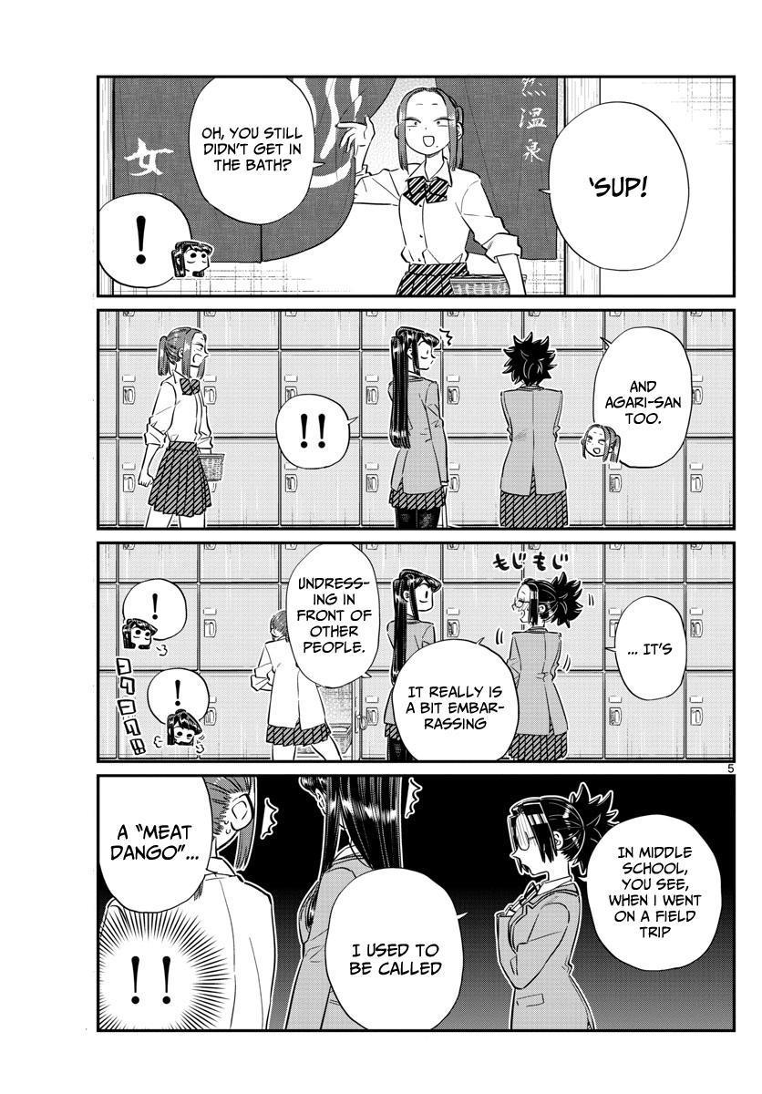 Komi-San Wa Komyushou Desu Vol.8 Chapter 106: The Bath page 5 - Mangakakalot