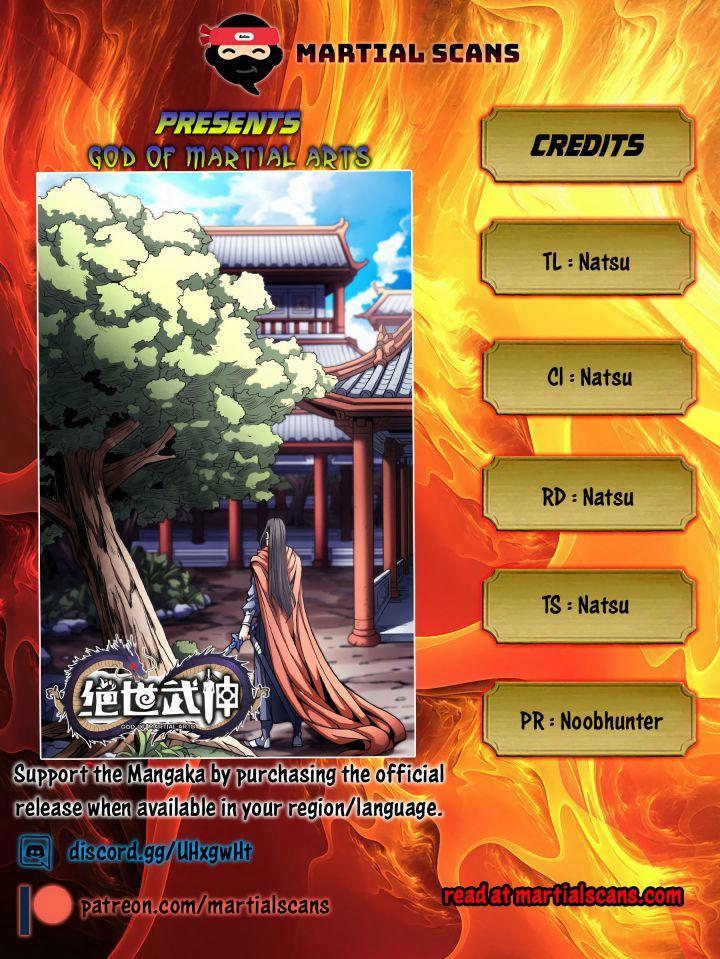 God Of Martial Arts Chapter 116.2 page 1 - Mangakakalots.com
