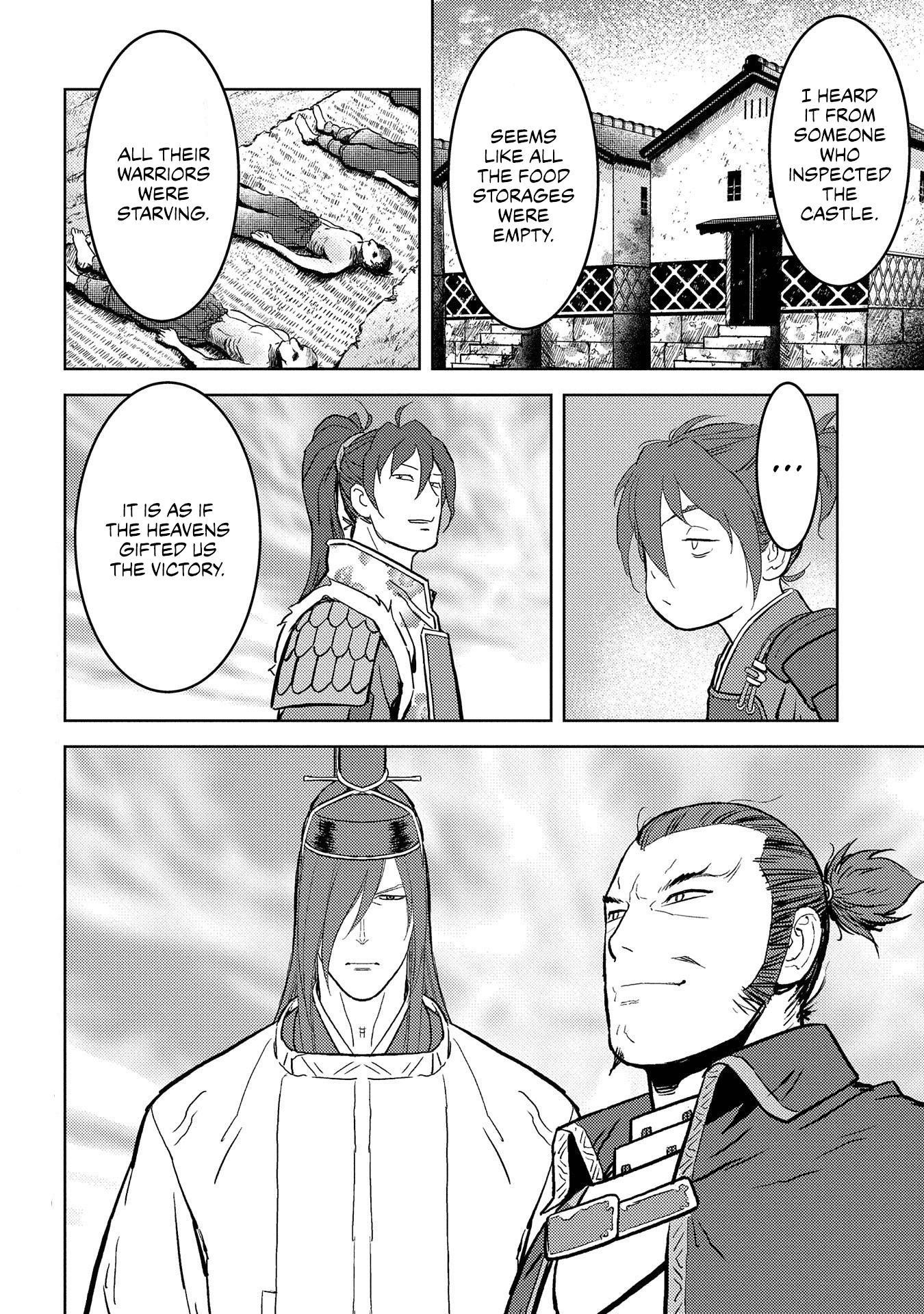 Sengoku Komachi Kurou Tan! Chapter 39 page 32 - Mangakakalots.com