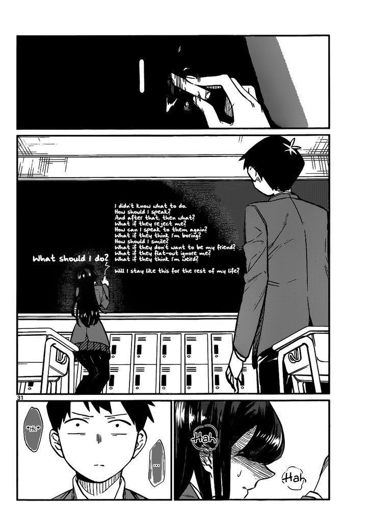 Komi-San Wa Komyushou Desu Vol.1 Chapter 5: I Want To Chat page 7 - Mangakakalot