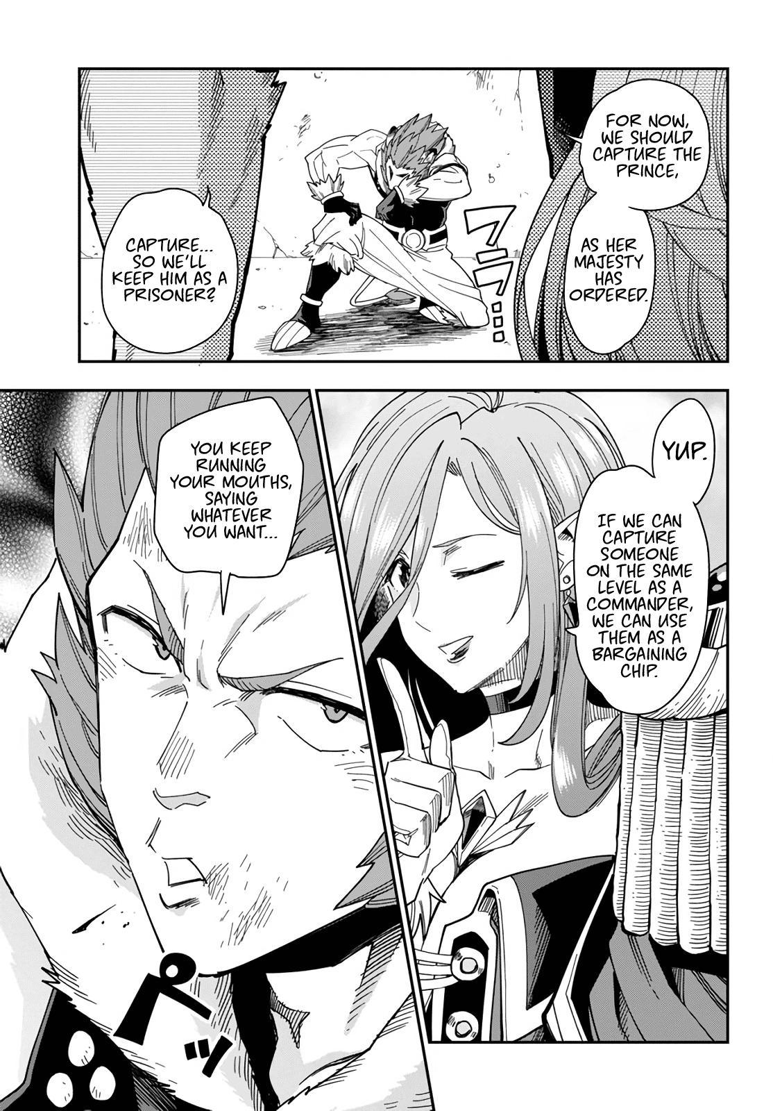 Konjiki No Moji Tsukai - Yuusha Yonin Ni Makikomareta Unique Cheat Chapter 67: Glimpse Of A Hero, Part 2 page 17 - Mangakakalots.com