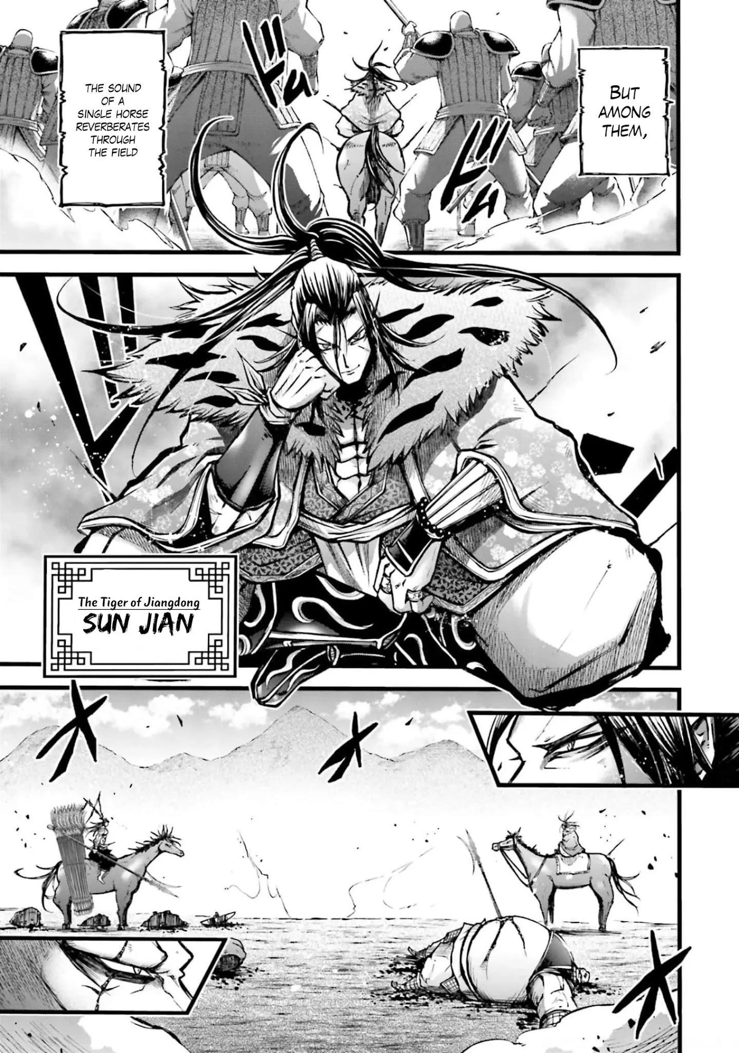 Shuumatsu No Valkyrie: The Legend Of Lu Bu Fengxian Chapter 8 page 4 - Mangakakalots.com