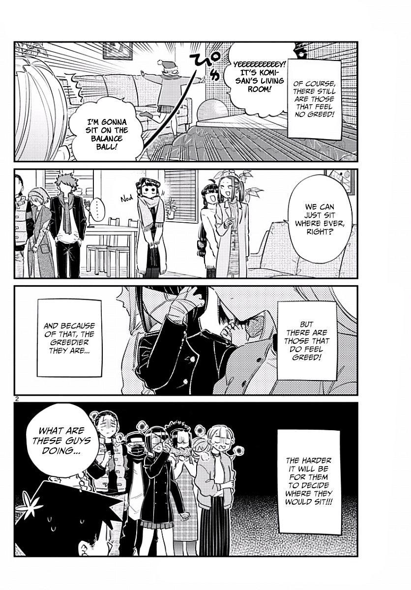 Komi-San Wa Komyushou Desu Vol.7 Chapter 97: Place To Sit page 2 - Mangakakalot