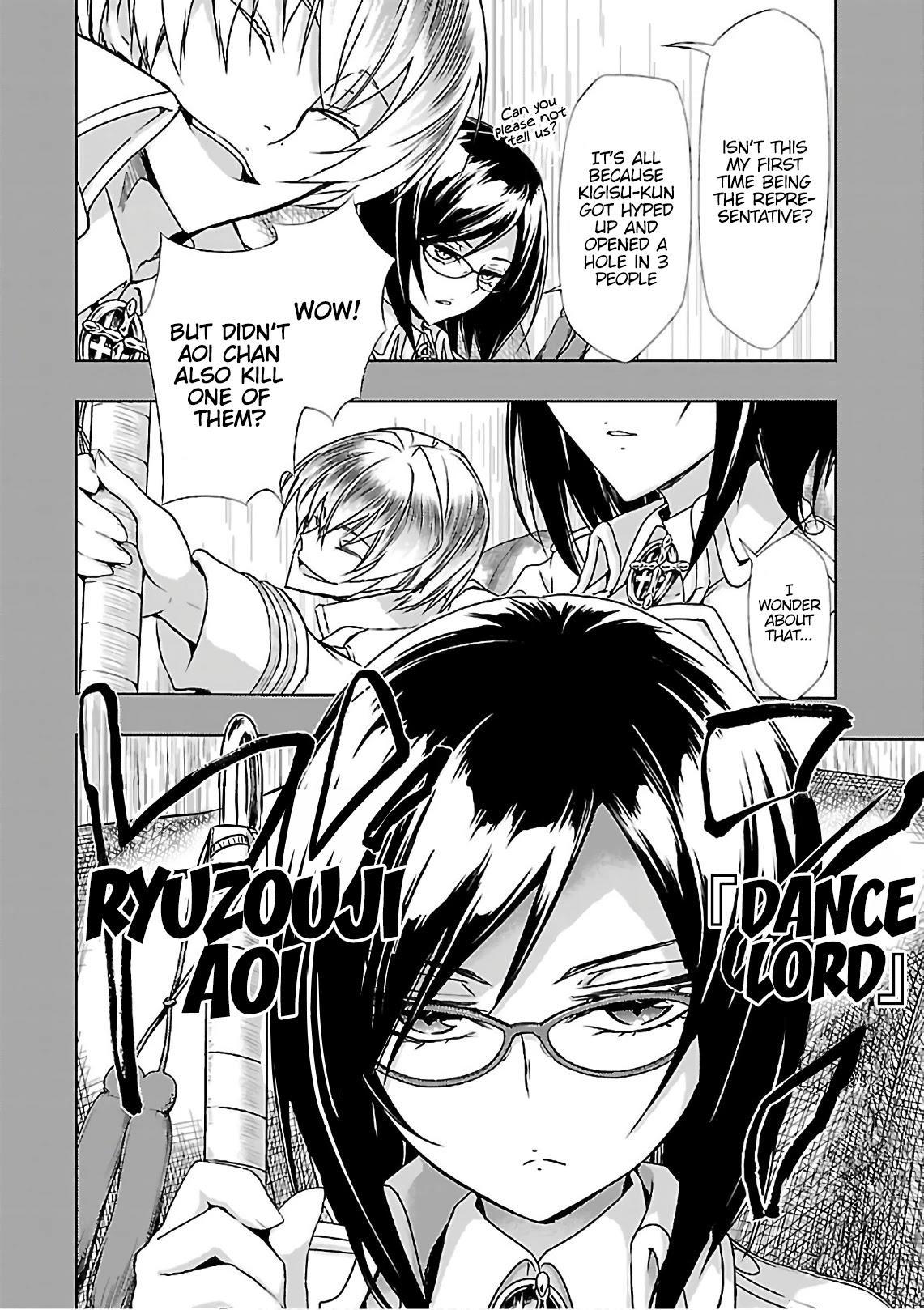 Busou Shoujo Machiavellianism Chapter 35: Sudden page 16 - Mangakakalots.com