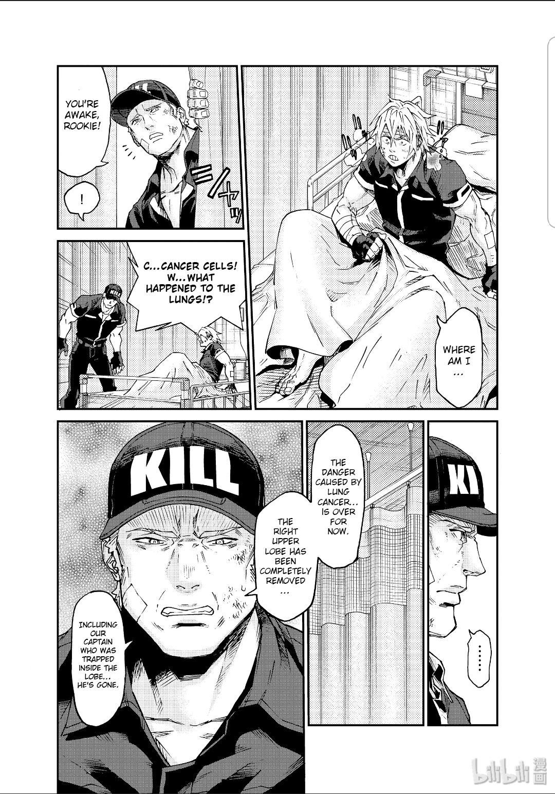 Hataraku Saibou Black Vol.7 Chapter 39 page 17 - Mangakakalots.com
